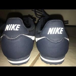 Blue nylon Nike Cortez